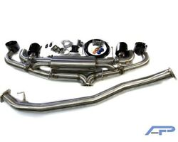 AGENCY POWER VALVE CONTROL EXHAUST FOR 09+ NISSAN GTR R35