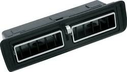 1970 - 1978 Camaro / Z28 Complete Center Dash Vent Assembly - For Cars With A/c