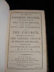 Antique Vintage The Book Of Common Prayer 1803 London
