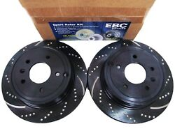 EBC GD7056 3GD DRILLED & SLOTTED SPORT BRAKE ROTORS - FRONT