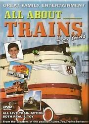 All About Trains For Kids Dvd New Live Real And Toy Family Diesels Steam Hiawatha