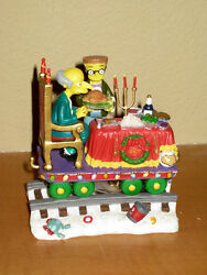 Hamilton Simpsons Christmas Express Train A Feast For One Burns And Smithers