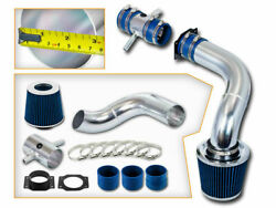 Bcp Blue Fits 95-99 Maxima 3.0l V6 Cold Air Intake Induction Kit + Filter