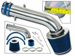 Bcp Blue 97-99 Acura Cl 3.0l V6 Short Ram Air Intake Racing System + Filter