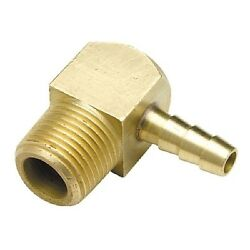 3/8 Inch Npt Male Threads X 1/4 Inch Barb Elbow Fuel Hose Barb Fitting For Boats