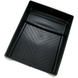 9 Inch Black Plastic Paint Tray With Ladder Lock Legs - Good For Bottom Painting