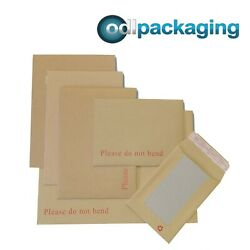 Hard Board Backed Envelopes And039please Do Not Bendand039 Manilla Brown│strong And Rigid