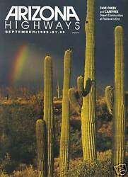 Complete 1980s Collector Set Arizona Highways Magazine 120 Issues G Or Better