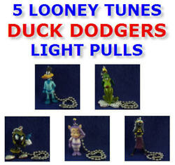 Looney Tunes Duck Dodgers New Figure Light Lamp Fan Pull Connector You Pick One