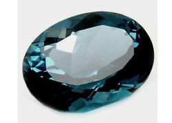 Masterpiece Collection Oval Genuine Natural London Blue Topaz 6x4-12x10mm