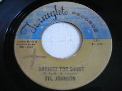 Syl Johnson Dresses Too Short / I Can Take Care Of Business 1968 45rpm
