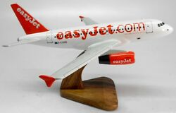 A-319 Easyjet Airbus A319 Airplane Wood Model Free Shipping Myasianart