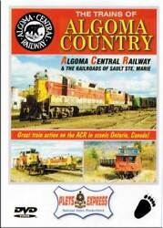 Trains Of Algoma Country Dvd New Central Railway Sault Ste. Marie Ontario Canada