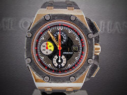 AUDEMARS PIGUET ROYAL OAK OFFSHORE GRAND PRIX ROSE GOLD LIMITED EDITION