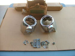 1953 Lincoln Road lamp housings NOS!  driving fog light