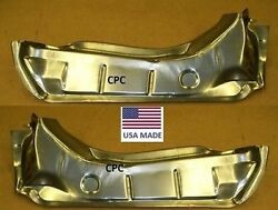 1969 Chevelle Drop Off Trunk Floor Extension Panel Pair Left And Right Usa Pan