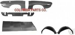BODY KIT CHALLENGER 70-74 QUARTER SKIN TRUNK LID VALANCE OUTER WHEELHOUSE