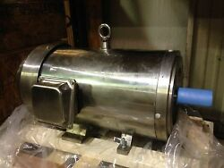 Csp152743 Stainless Steel Reliable Electric Motor - 3450rpm 15hp 254tc 230/460
