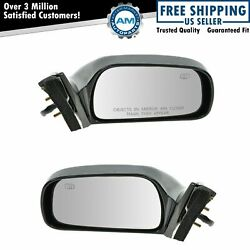 Power Heated Side View Mirrors Left And Right Pair Set For 97-01 Toyota Camry