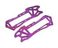 Integy T6949purple Alloy Chassis Plate For Hpi E-savage