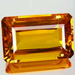 Masterpiece Collection Octagon Genuine Natural Yellow Citrine 5x3-14x10mm