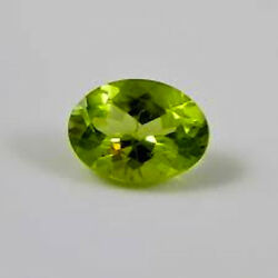 Masterpiece Collection Oval Faceted Genuine Peridot 5x3mm To 10x8mm
