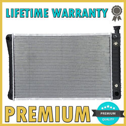 Brand New Premium Radiator For Chevrolet Gmc Pickup Van V6 V8 W/o Eoc At Mt