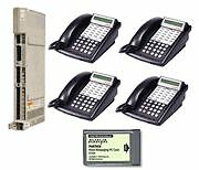 Lucent Avaya Partner Acs R6 Office Phone System W/ Voicemail And 4 18d 1 34d