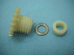 1973 Yamaha At3 Enduro 125 Tach Tachometer Plastic Drive Gear And Spacer