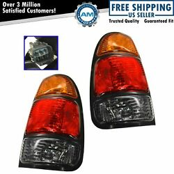 Tail Lights Taillamps Left And Right Pair Set For 2000-2004 Toyota Tundra