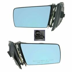 Power Heated Memory Side View Mirrors Left/right Pair Set For Mercedes E Class