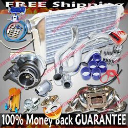 Turbo Kits Gt35 Turbo For 95-98 Nissan 240sx S14 S15 Ka24 Top Mount Only