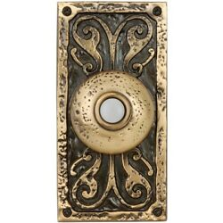 Craftmade Traditional Surface Mount Doorbell - Burnished Bronze - Pb3037-bb