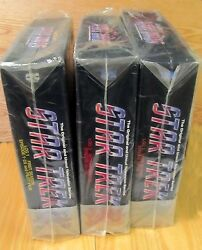 Star Trek Complete Tv Collection 3 Laserdisc Box Sets Brand New And Factory Sealed