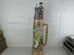Large Collectible Vintage Stein Beer Stein With Lid-local Pickup Only