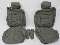 1999-2006 Chevrolet T800 Leather Seat Cover Take Off