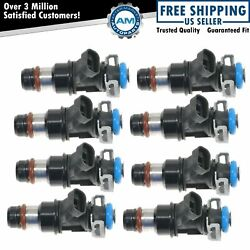 Ac Delco 17113698 Fuel Injector Set Of 8 Kit For Chevy Gmc V8 Pickup Truck