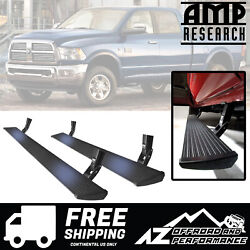 Amp Research Running Board Power Steps For 2010-2018 Dodge Ram 2500 3500 Pickup
