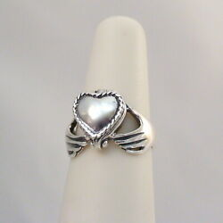 Claddagh Heart Poison Ring - 925 Sterling Silver - Victorian Locket Pillbox Ring
