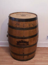 Jack Daniels Whiskey Barrel, Branded And Engraved Sanded And Finished/ Free Ship