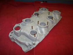 1960's Moon 8 X 1 Weber Down Draft Rect Port Intake Manifold 396 427 454 Chevy