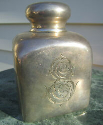 Fantastic Antique Imperial Russian Silver And Gold Washed Tea Caddy. Big Heavy.