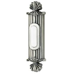 Craftmade Classical Surface Mount Ornate Doorbell - Antique Pewter - Bsso-ap