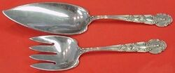 Renaissance By And Co. Sterling Fish Serving Set 2pc Figural 11 3/4