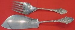 Italian By And Co. Sterling Silver Fish Serving Set 2pc