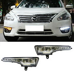 Exact Fit Switchback LED Daytime Running Lights Turn Signal Lamps: Nissan Altima