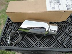 New, Free Ship, Chrome Plated Stainless Steel Exhaust Tip, Ra410234