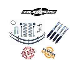 Rubicon Express 3.5 Short Arm W/ Leaf Springs And Shocks For '84-'01 Jeep Xj