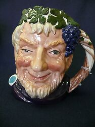 Royal Doulton Large Character Toby Bacchus D6499 Issued 1958