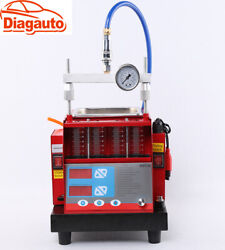 New 4 Jars Cylinders Auto Fuel Injector Tester And Ultrasonic Cleaner Mst-30